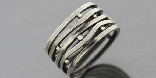 Multiplicity Ring - Metalworking with  Kieu Pham Gray