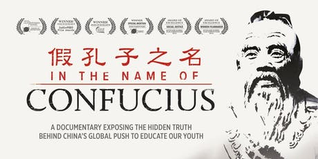 """In the Name of Confucius"" - Award-Winning Documentary Screening tickets"