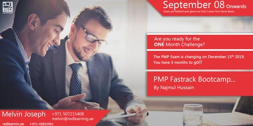 PMP Fast-Track Bootcamp in Dubai - Free Consultation