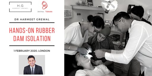 Hands-On Rubber Dam Isolation (London) 1 February 2020
