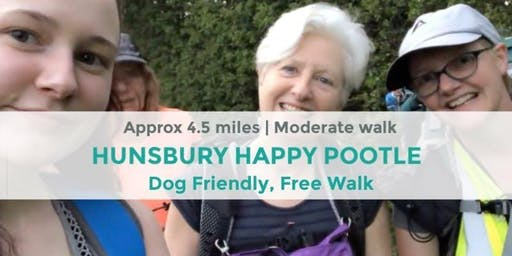 HUNSBURY POOTLE   APPROX 4.5 MILES   MODERATE   NORTHANTS