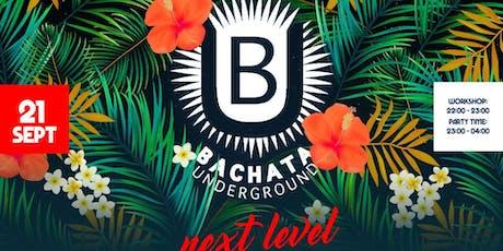 Bachata Underground tickets