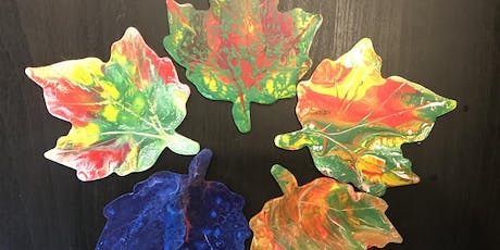 Fall Color Meditation Acrylic Pouring tickets