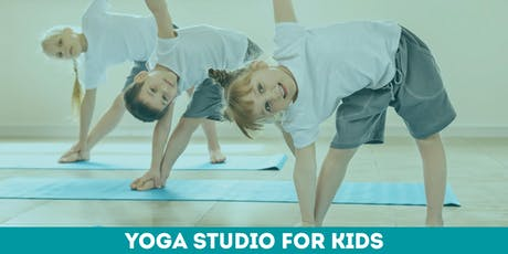 Yoga Studio for kids @Minitalia Lab tickets