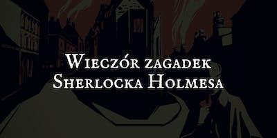 1. Wieczór zagadek Sherlocka Holmesa | Tropem skradzionej biżuterii
