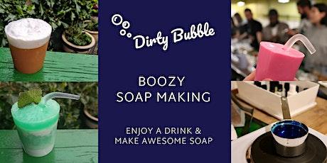 Boozy Soap Making Workshop (King's Cross) tickets