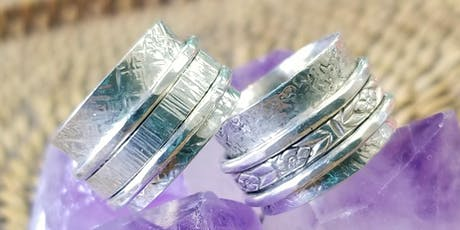 Spinner Ring - Metal Smithing Jewelry Making tickets