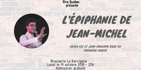 L'Épiphanie de Jean-Michel tickets