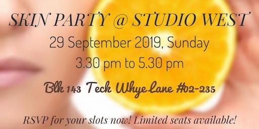 September Skin Party @ Studio West