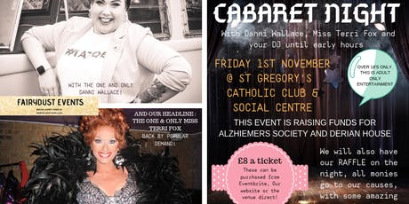 Cabaret Evening - Live Music, Comedy and DJ till late tickets