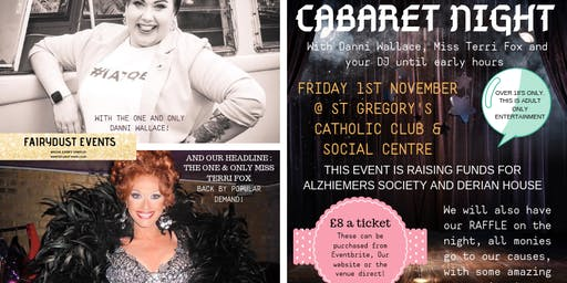 Cabaret Evening - Live Music, Comedy and DJ till late