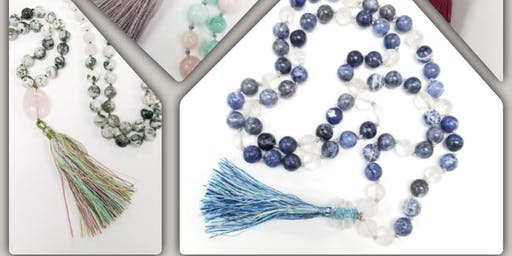 Knotted Mala - Jewelry Making