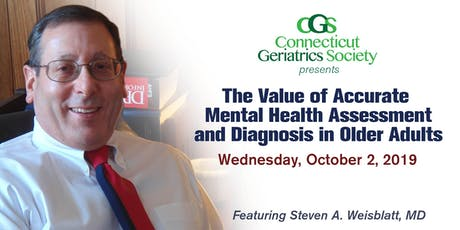 The Value of Accurate Mental Health Assessment and Diagnosis in Older Adults tickets