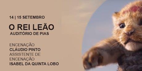Rei Leão: O Musical bilhetes