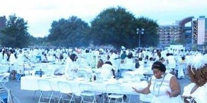 NYC Popup All White Dinner  - Soirée Dans le Parc
