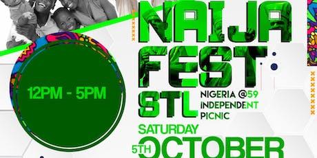 NAIJA FEST STL: Nigeria @ 59 Independent Picnic  tickets
