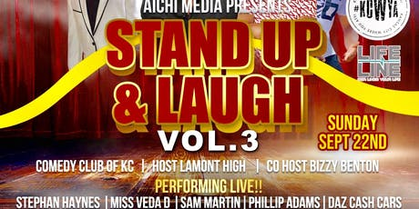 STAND UP & LAUGH VOL.3 tickets