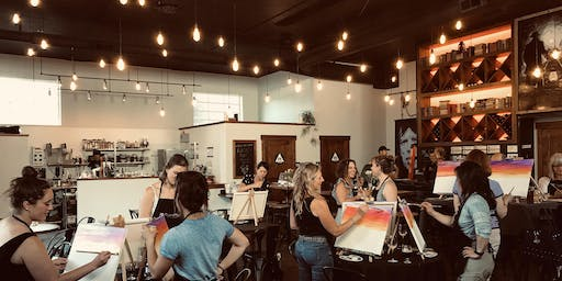 Paint & Sip at Philosophy!