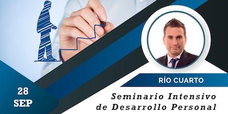 Seminario de Desarrollo Personal en Río Cuarto entradas