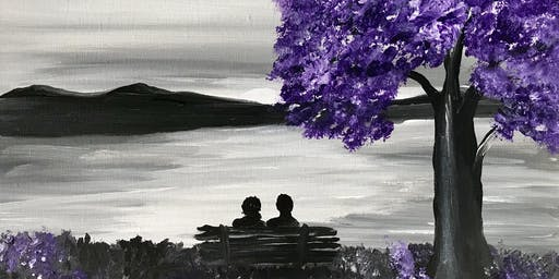 "Adult Open Paint (18yrs+)  Date Night or Single     ""Memories"""