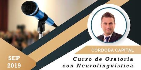 Curso de Oratoria con Neurolingüística en Córdoba entradas