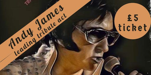 Fundraiser Night - Elvis (No 1 Tribute Act - Andy James)