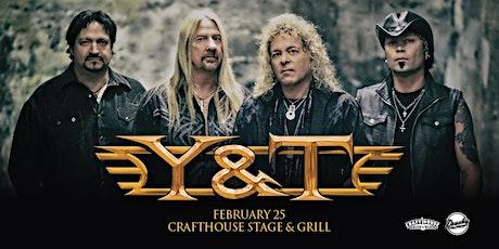 Y&T tickets
