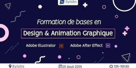 Les bases du design et animation graphiques billets