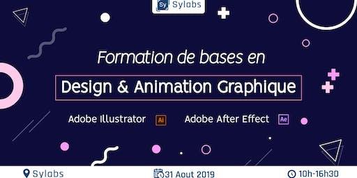 Les bases du design et animation graphiques
