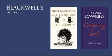 Philosophy in the Theatre - Nigel Warburton and Richard Dawkins tickets