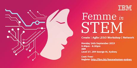 IBM Femme in STEM Evening Sydney - September 2019 tickets