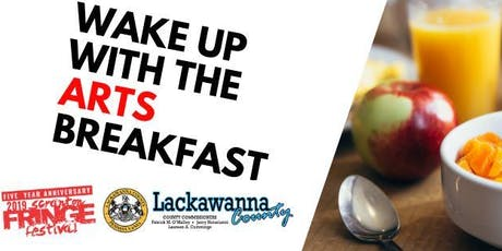 Wake Up With The Arts Breakfast 2019 tickets