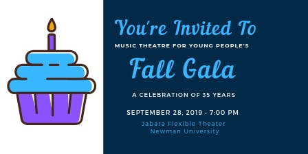 Music Theatre For Young People's Annual Fall Gala