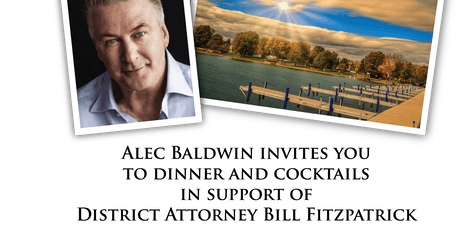 Alec Baldwin in support of D.A. Fitzpatrick tickets