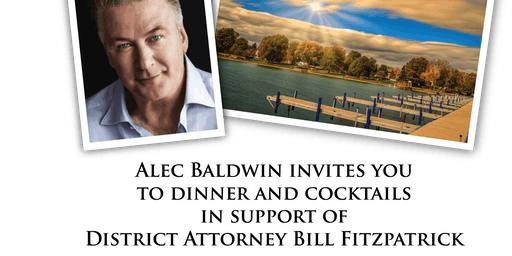 Alec Baldwin in support of D.A. Fitzpatrick