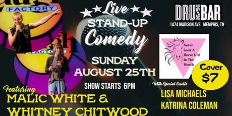 Lesbian Stand Up Comedy At Dru's tickets
