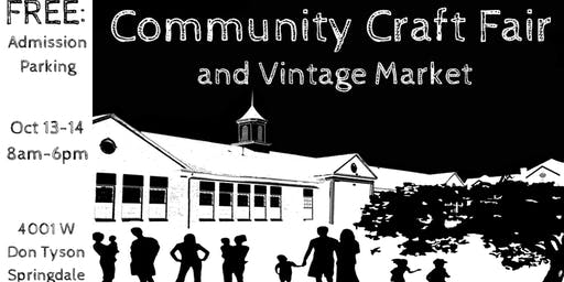 Community Craft Fair and Vintage Market