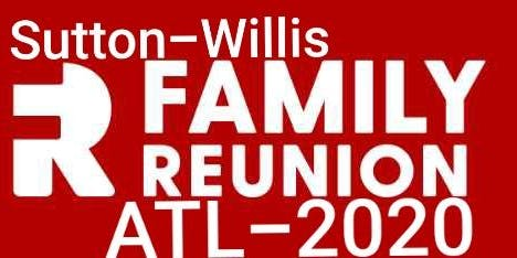 Sutton-Willis Family Reunion 2020