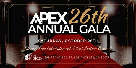 APEX 26th Annual Gala tickets