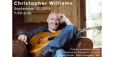 Christoper Williams Concert at Community Covenant Church tickets