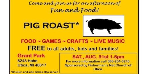 FREE Pig Roast, Aug 2019