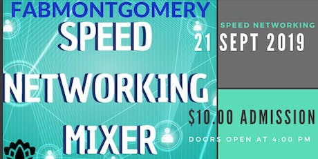 FABMONTGOMERY Meet and Greet Business Speed Networking tickets
