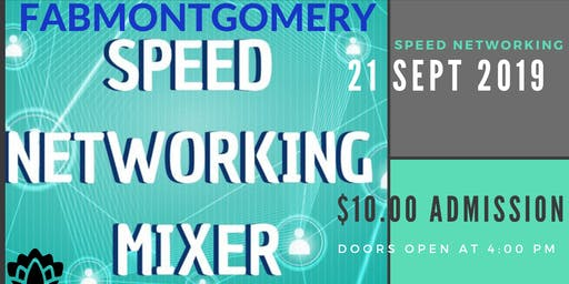 FABMONTGOMERY Meet and Greet Business Speed Networking