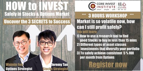 How To Invest Workshop (Johor) tickets