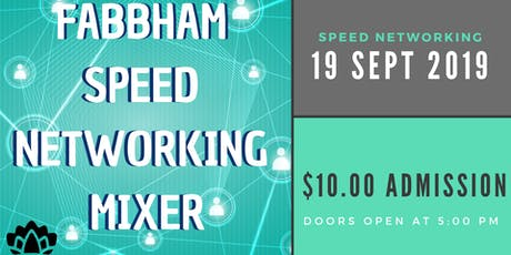 FABBHAM Meet and Greet Business Speed Networking tickets