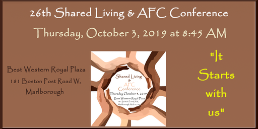 Shared Living & Adult Family Care Conference 2019