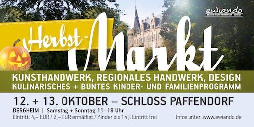 Herbstmarkt Schloss Paffendorf