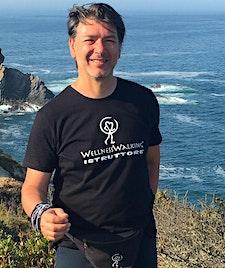 La camminata felice - Stefano Colombari logo