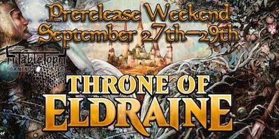 Tabletop Gaming Center Throne of Eldraine Prerelease Weekend