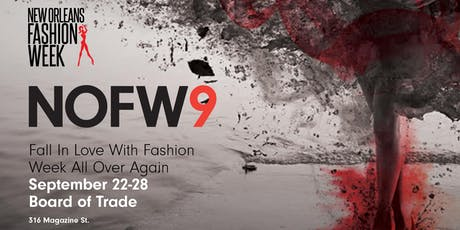New Orleans Fashion Week 2019 tickets